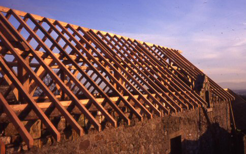 Timber Frame Building Scotland UK